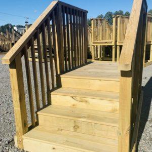 4 Steps-prebuilt w/stoop