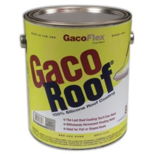 Gaco Roof Coating Gray 1 Gallon