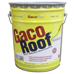 Gaco Roof Coating Gray 5 Gallon