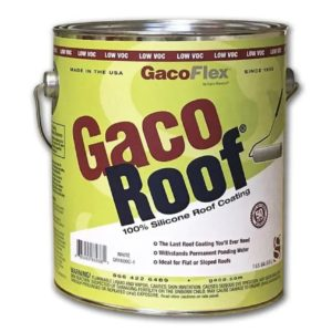 Gaco Roof Coating White 1 Gallon