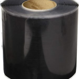 6 in. x 100 ft. Black Cover Tape
