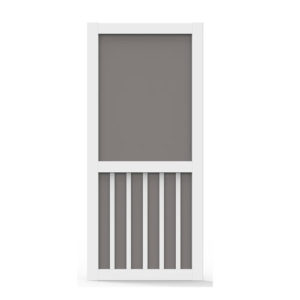 2/8 Vinyl 5 Bar Screen Door