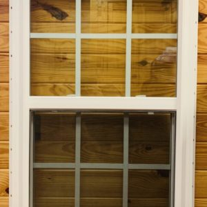 28 in. x 46 in. SH Low E GBG Vinyl Window