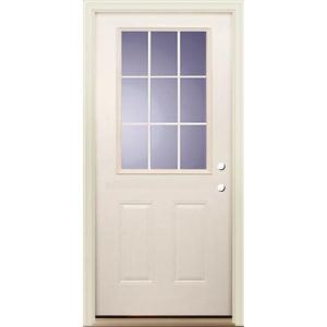 9 Lite Exterior Door Unit 3/0 LH