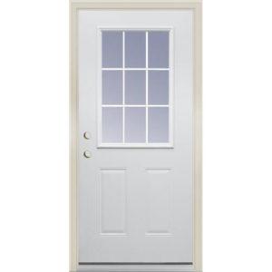 9 Lite Exterior Door Unit 2/8 RH