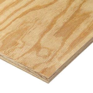 Rated Sheathing Plywood