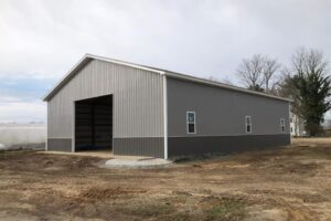 Pole Shed Enclosed
